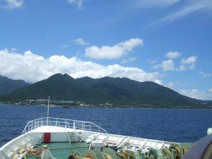 屋久島への船旅はフェリー屋久島2