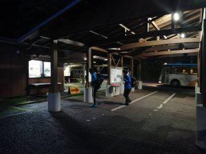 荒川登山バス乗り場